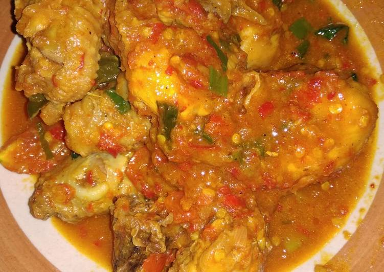 Cara memasak Ayam Rica Rica Pedas Kemangi , Bisa Manjain Lidah