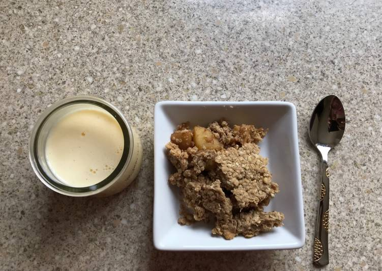 Recipe: Tasty Apple and oats crumble