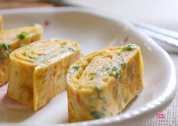 Resep Tamagoyaki – Telur dadar Gulung ala Jepang Paling Enak