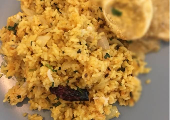 How to Make Jamie Oliver Phodnicha Bhaat (masala rice)