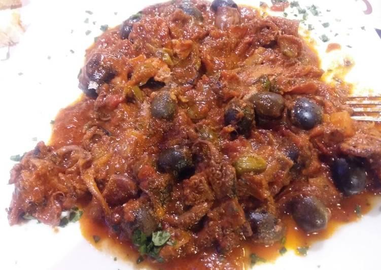 Ricetta Moscardini in umido alla toscanaccia