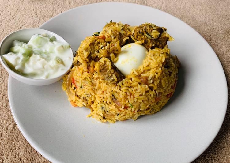 How to Prepare Homemade Mutton biryani