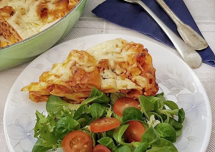 Recipe of Perfect Tuna Pasta Bake