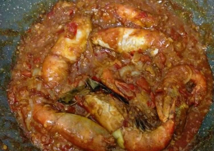 Udang galah saus padang - cookandrecipe.com