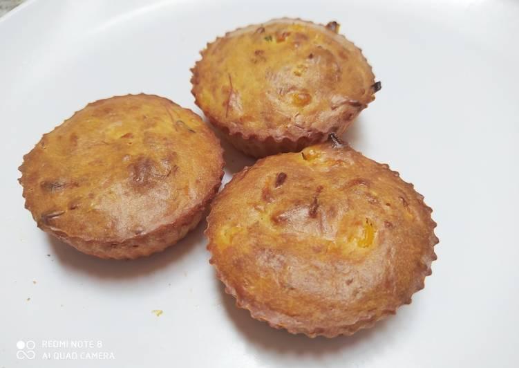 Muffin sosis sayur gurih (bisa untuk MPASI GTM)