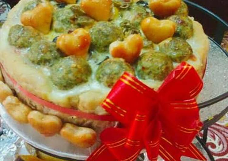 Spicy_kafta_pizza_ cake