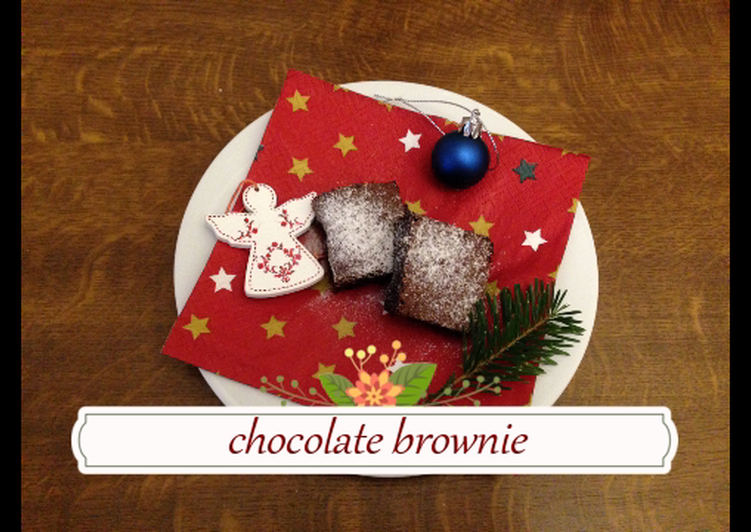 Simple Way to Make Favorite Chocolate brownie