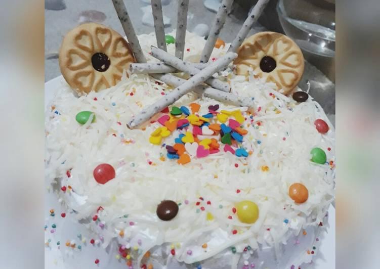 Resep: Berselera Birthday Cake