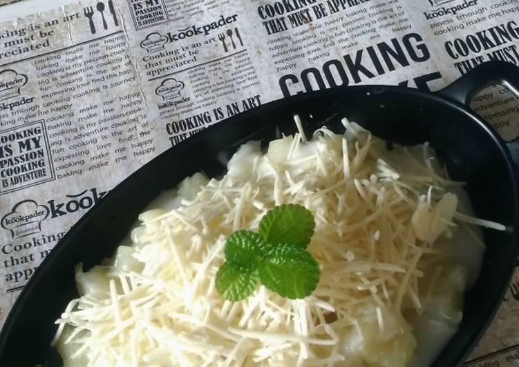 Resep 4.1. Singkong Thai Keju enak