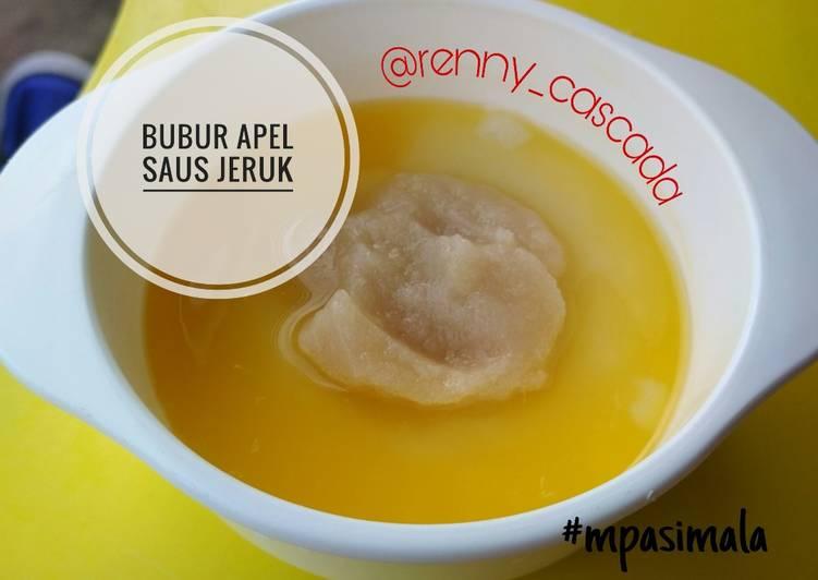 Mpasi 7 bulan breakfast bubur 'yellow yummy'