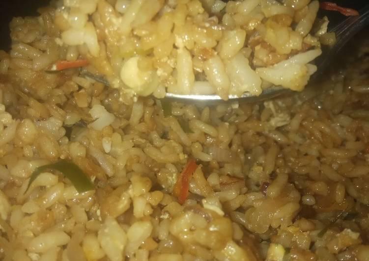 Resep Nasi goreng sambal matah Ala Anak kos👌 Bikin Ngiler