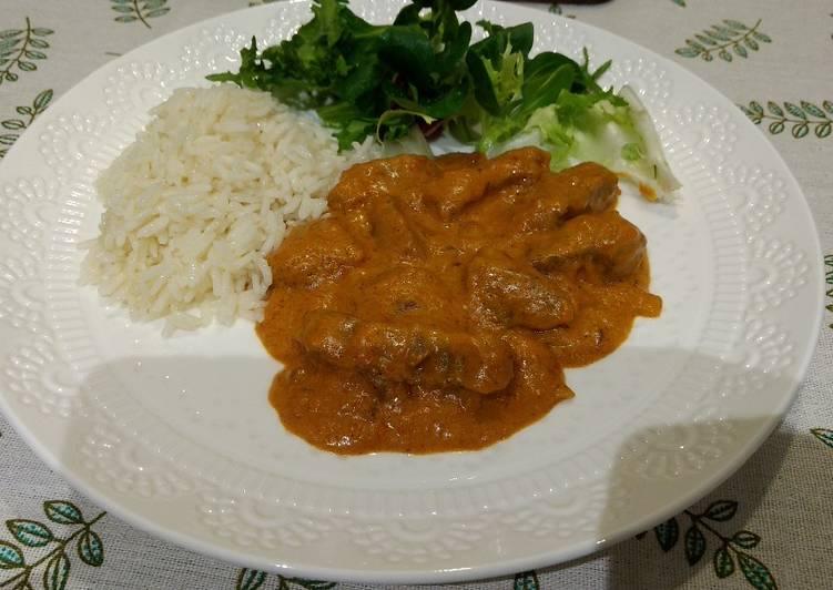 Recipe of Award-winning Easy Brazilian Beef Strogonoff