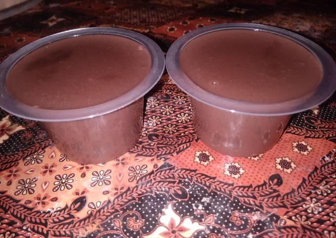 Pudding Silky Coklat