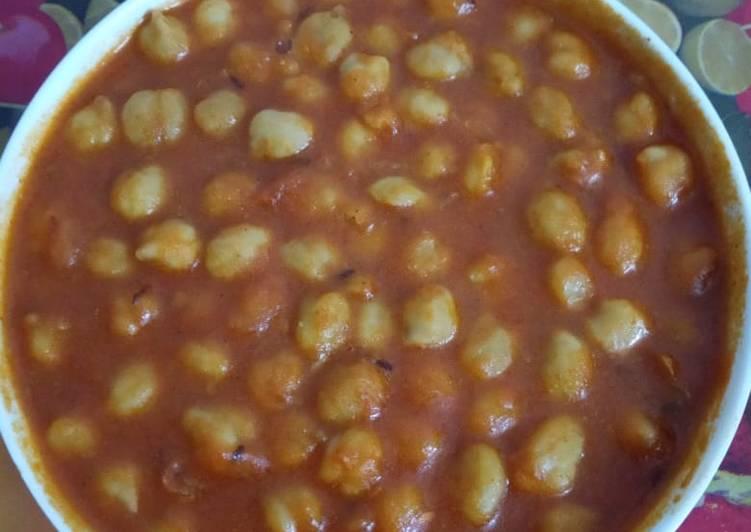 How to Prepare Most Popular Chickpeas(Chana) Massala