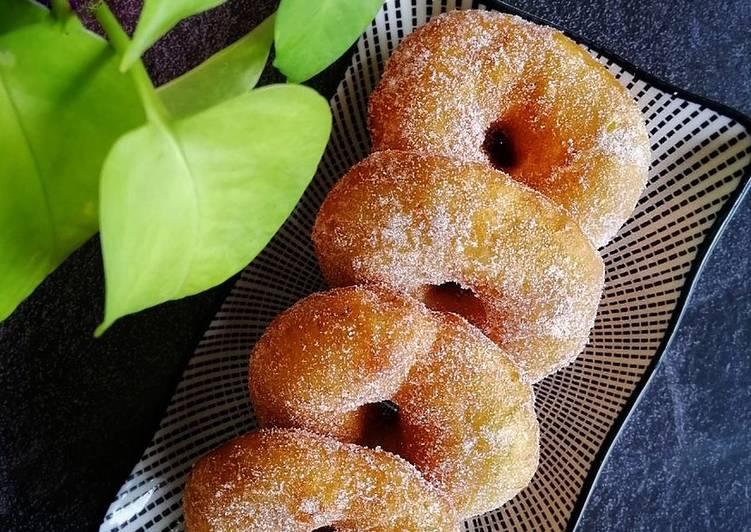 Resepi:  Donut Gebu  Enak