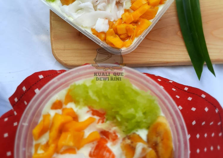 Life Style Langkah Mudah untuk Menyiapkan Spongecake (Durian_Pandan) Es Teller, Sempurna
