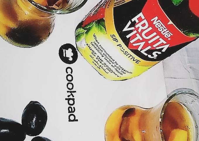 Apple mango juice