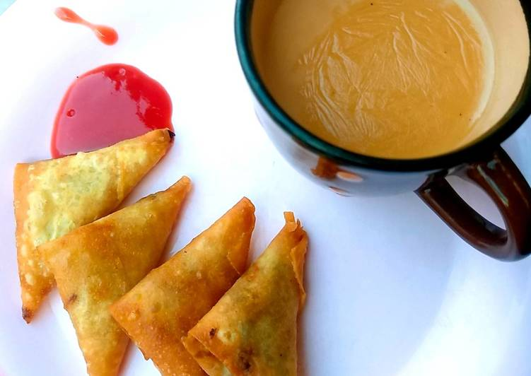 Recipe of Super Quick Homemade Cinnamon and cardamom tea