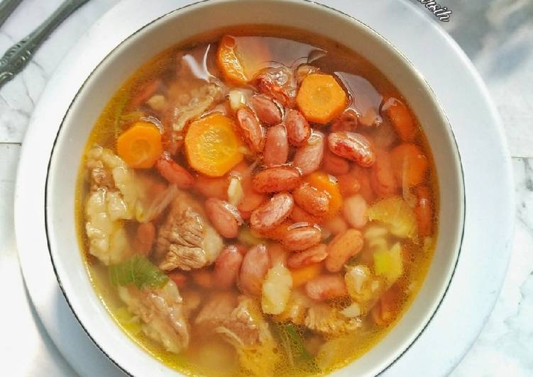 Sayur Sup Kacang Merah