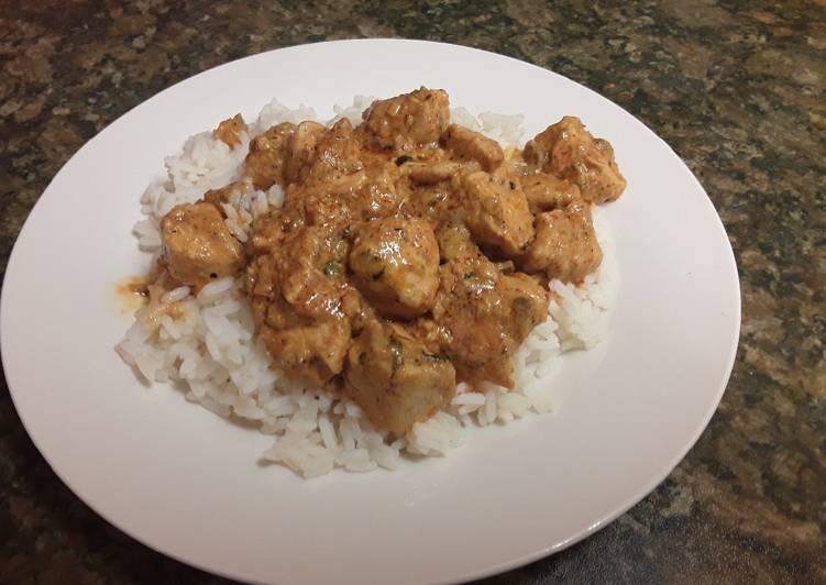 Red Thai Chicken Curry 🍛