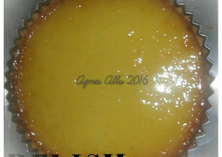 Resep Kue Lontar / Pie susu Bikin Laper