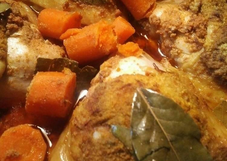 Stewed Chicken Chorizo