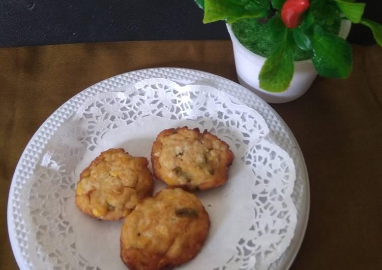 Perkedel Tahu Jagung - cookandrecipe.com
