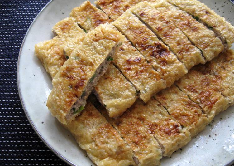 30 Minute Easiest Way to Make Quick Gluten-free 'Abura-age' Gyoza