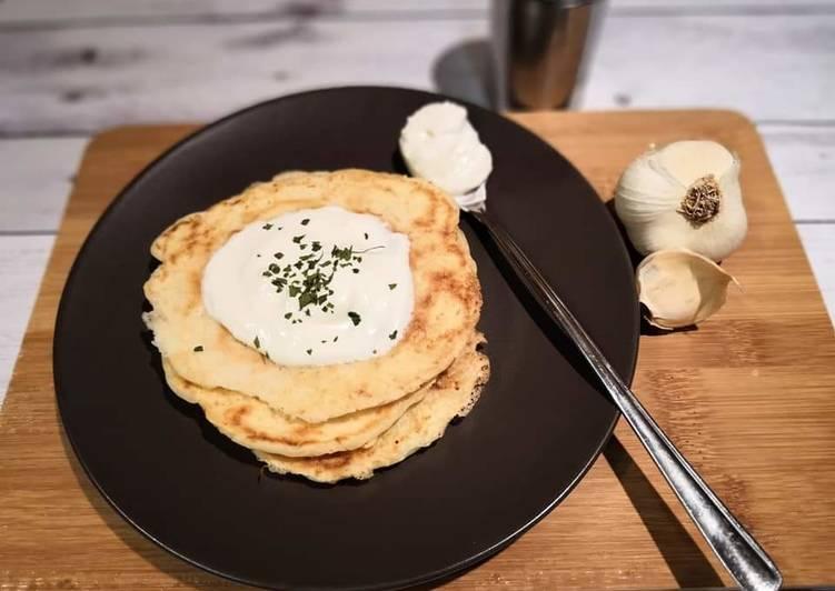 Gluténmentes sajtos palacsinta recept foto