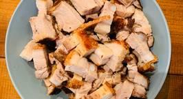 Hình ảnh món Thịt quay giòn bì (air fryer)