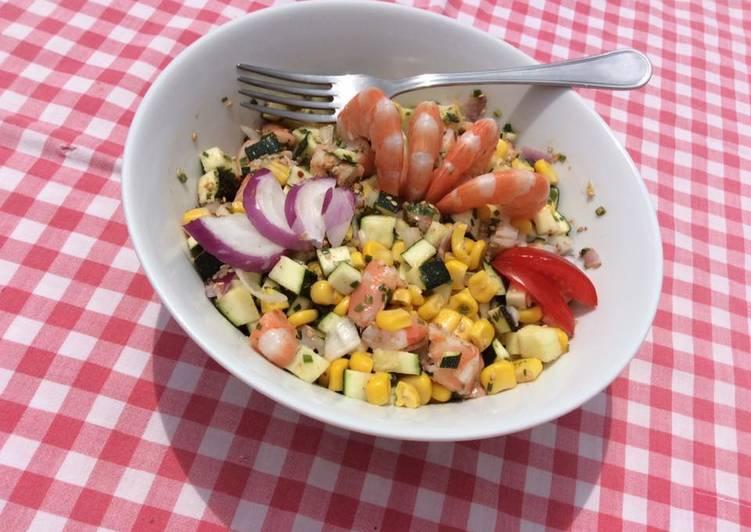 Salade croquante au sésame
