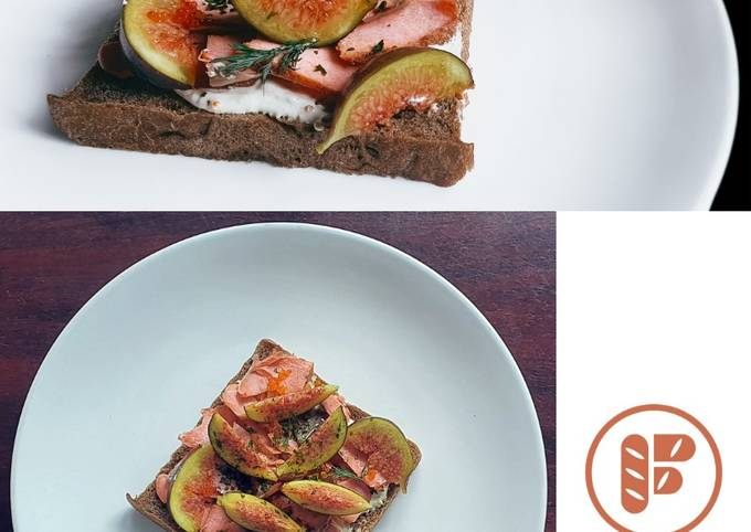 How To Cook Feast of Seven Fishes III - Smoked Salmon Smørrebrød Super Fast