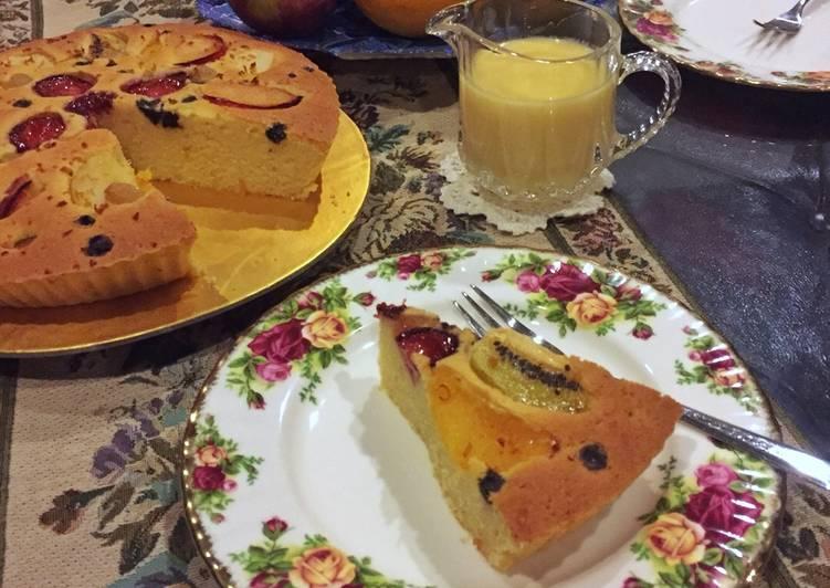 Fruit Pastry Cake Noa Gracia