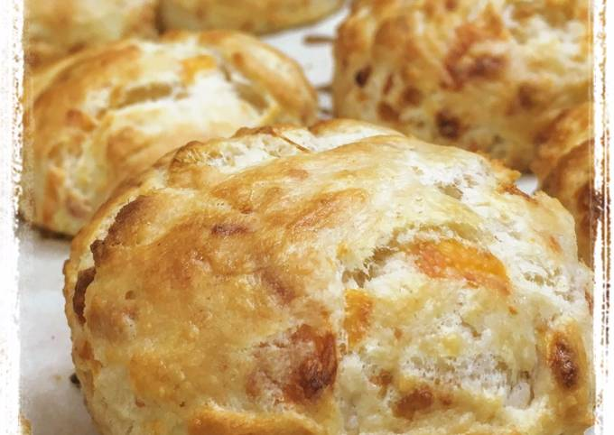 Recipe: Perfect Three Cheese Buttermilk Biscuits
