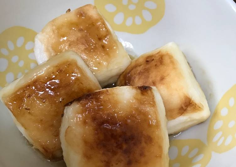 How to Make Perfect Agedashi hanpen (FriedHanpen)