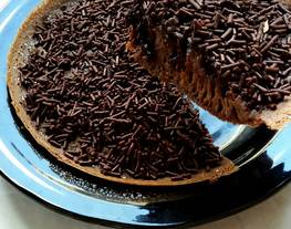 Terangbulan Cokelat / Martabak Manis Cokelat