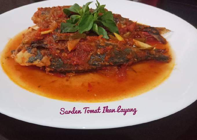 Sarden Tomat Ikan Layang