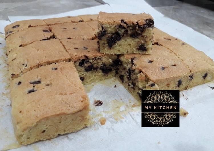 Resep Cookie Bars Bikin Jadi Laper