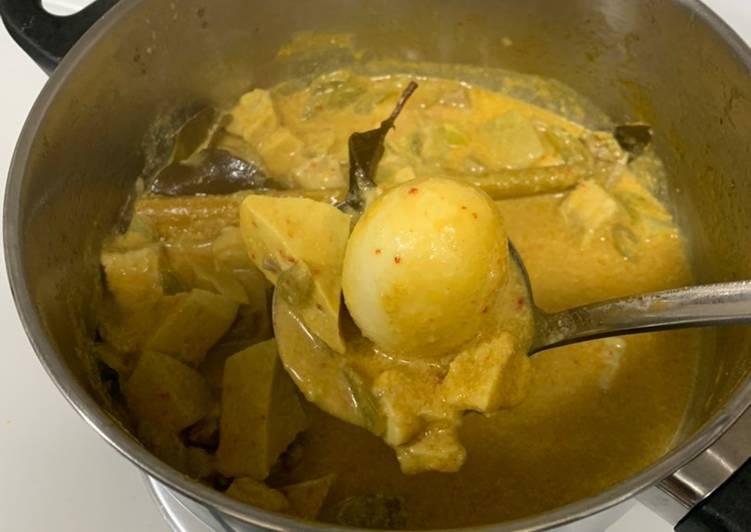 Lontong sayur padang (recook icha irawan)
