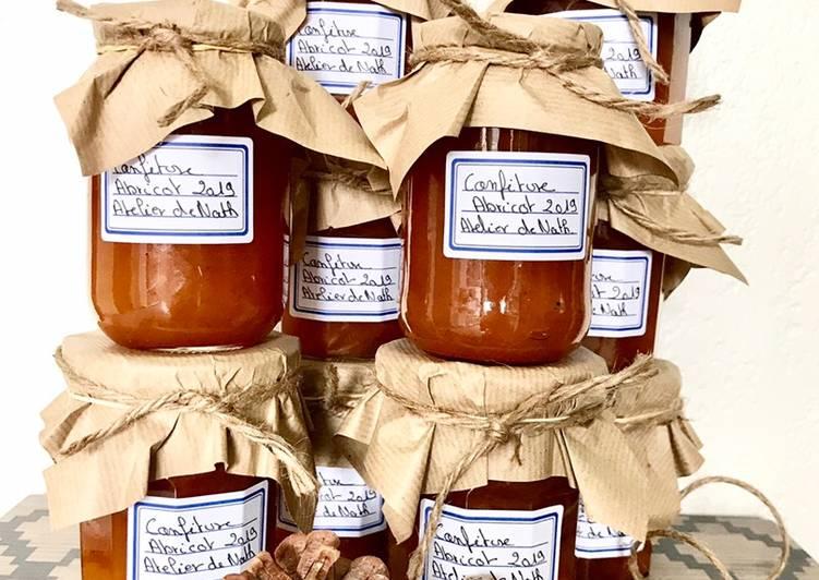 Recette: Savoureux Confiture maison d'abricot 🍑