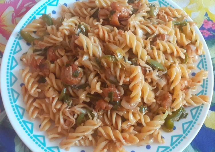 Recipe: Delicious Chicken pasta