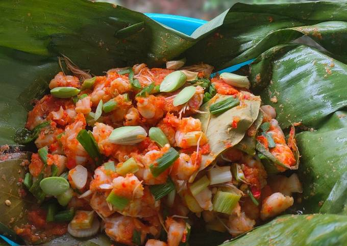 Pepes Udang (Diet)