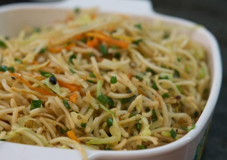 Easy Veg Noodles