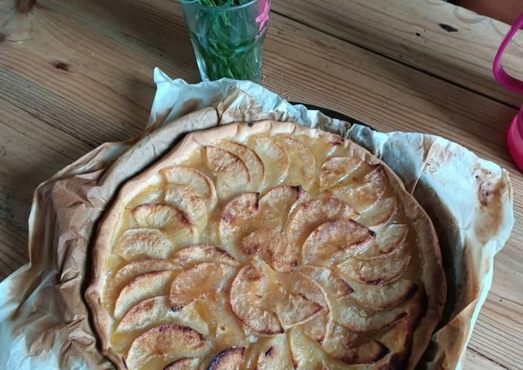 Comment faire Préparer Parfait Tarte aux pommes