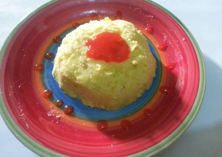 Mashed potatoes# my mum's contest #