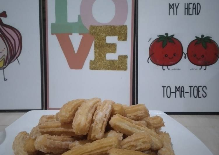 Churros mini tabur gula