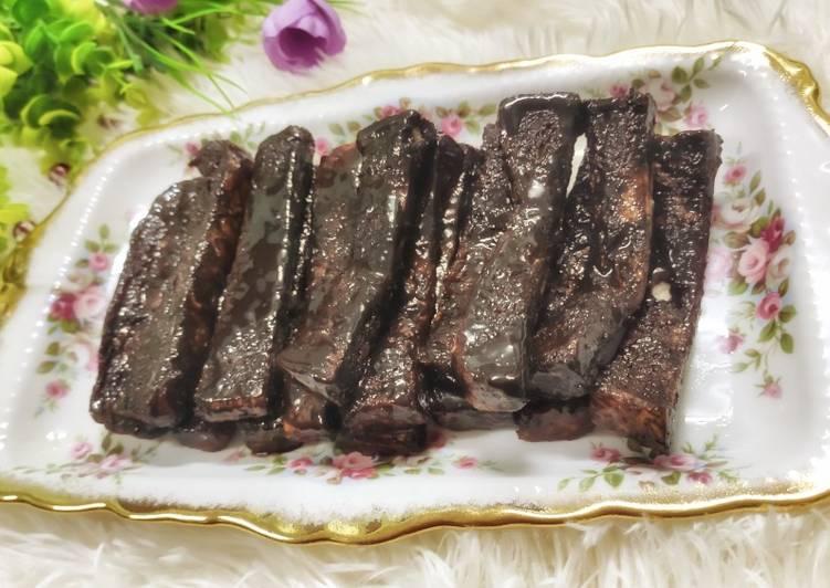 Resepi:  Roti coklat leleh  Lazat