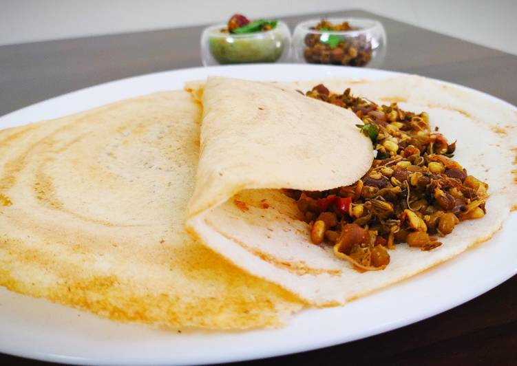 Protein rich masala dosa without potato, Some Foods That Are Good For Your Heart