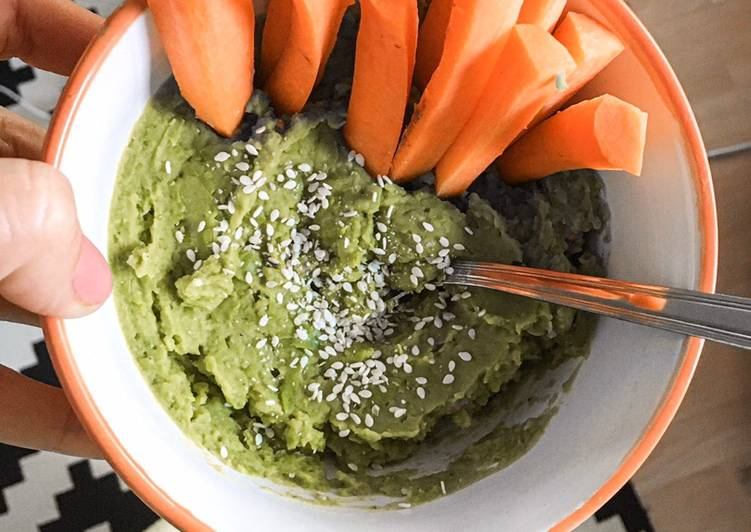 Fitness Recipes: Healthy Snack Instead of Hummus