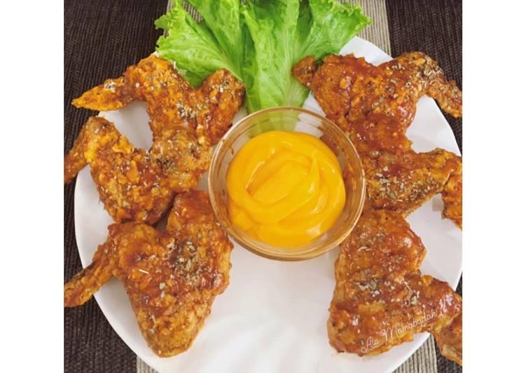 12 Resep: Spicy BBQ Chicken with Cheesy Sauce (oven) yang Bikin Ngiler!